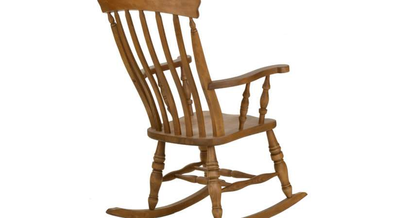 Beech Slat Rocking Chair Lpc Furniture