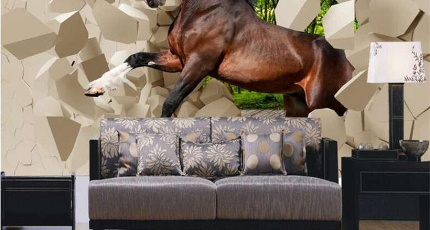 Beibehang Modern Stereo Murals Horse