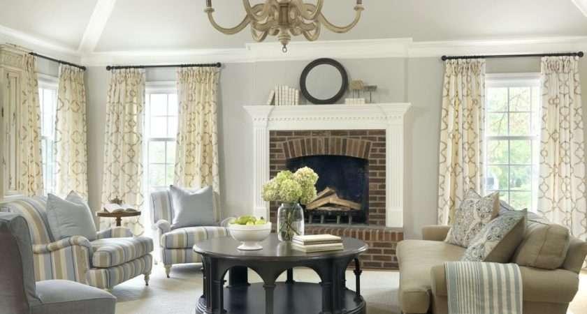 Beige Living Room Beautiful Cozy