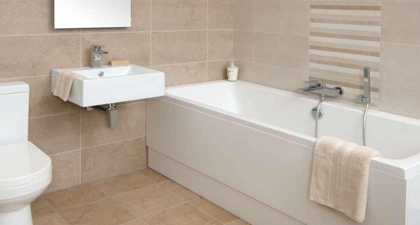 Beige Tiles Bathroom Paint Color Peenmedia