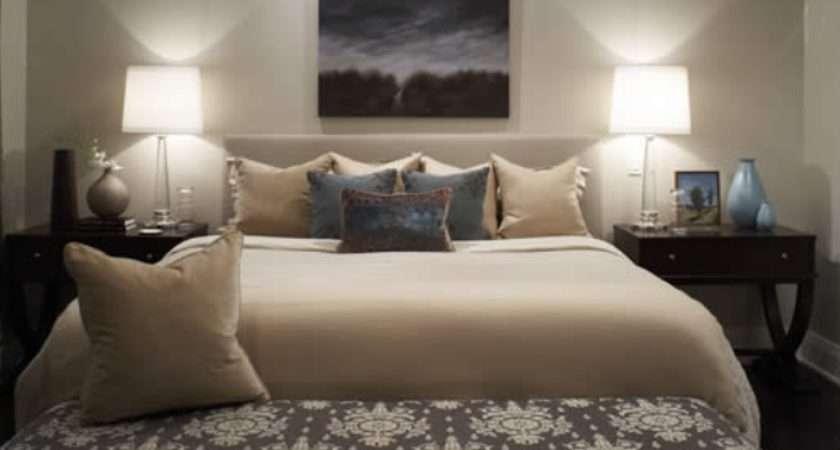 Beige White Bedding Transitional Bedroom Kimberley Seldon