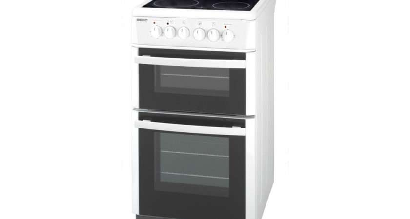 Beko Double Electric Oven Hob White