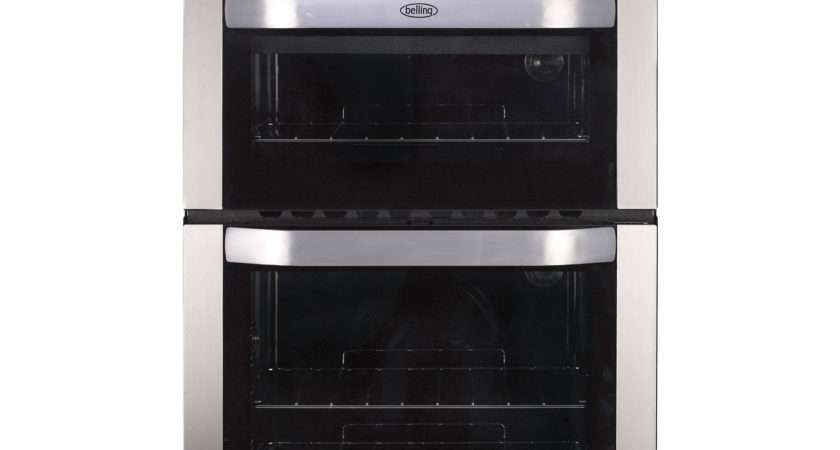 Belling Built Double Oven Stainless Steel