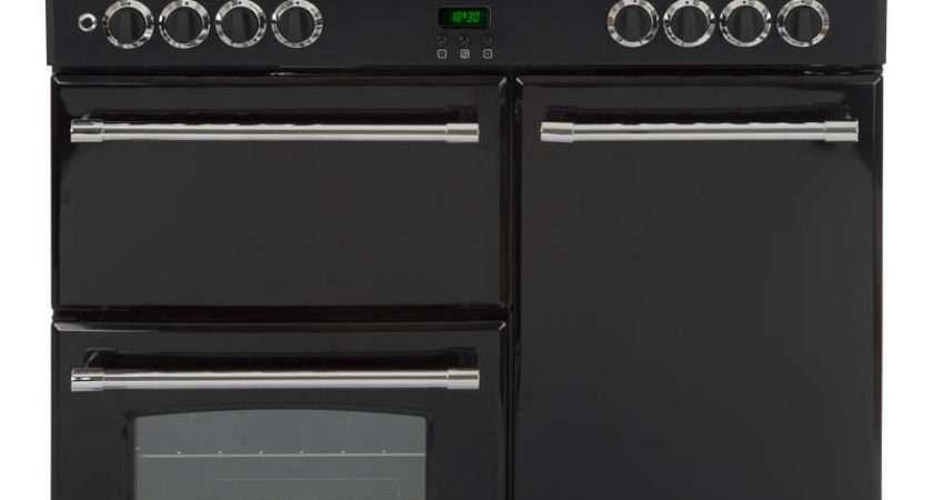 Belling Classic Black Dual Fuel Range Cooker