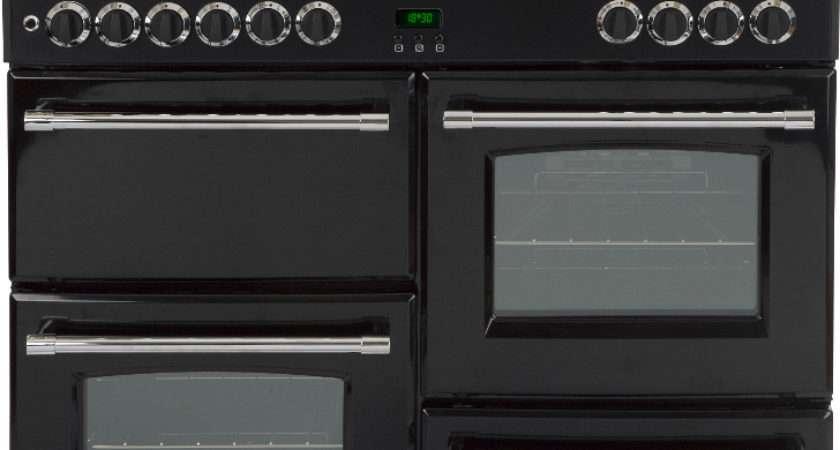 Belling Classic Dft Black Dual Fuel Range Cooker