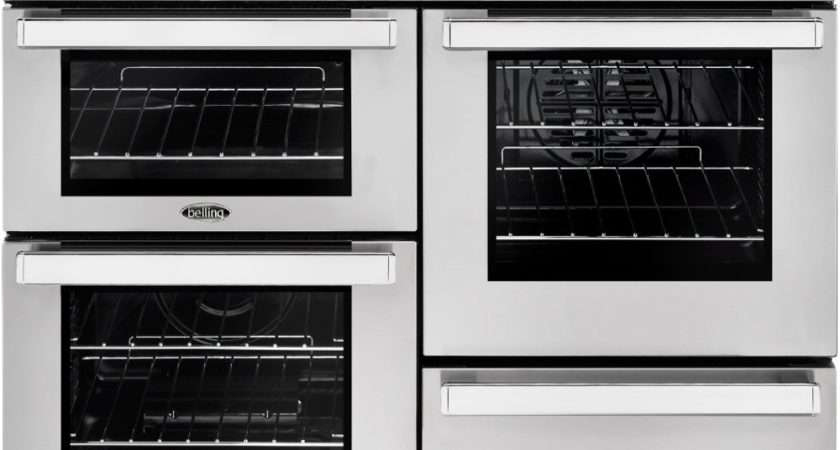 Belling Cookcentre Dft Prof Stainless Steel Dual