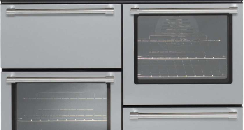 Belling Country Classic Silver Dual Fuel Range
