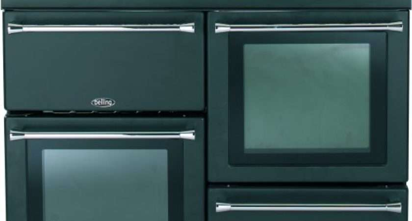 Belling Countrychef Anthracite Dual Fuel Range