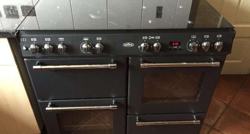 Belling Dual Fuel Range Cooker Gas Hot Plates