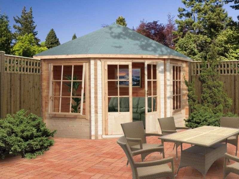 Belvoir Wooden Log Corner Cabin Home Delivered Customer