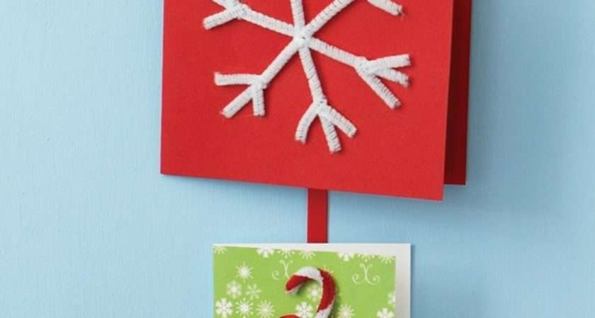 Bend Pipe Cleaners Make Your Own Christmas Cards