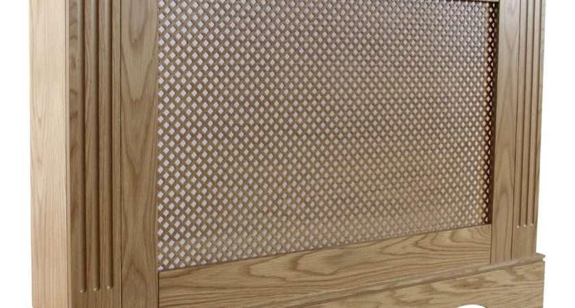 Berkshire Medium Oak Effect Radiator Cover Departments