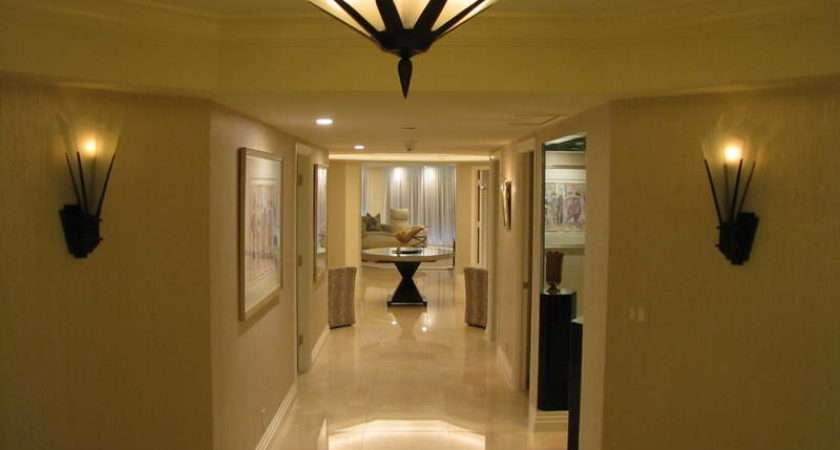Besides Minimal Ceiling Light Found Most Hallways Wall