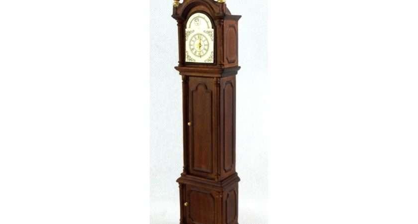 Bespaq Walnut Grandfather Clock Hall Furniture