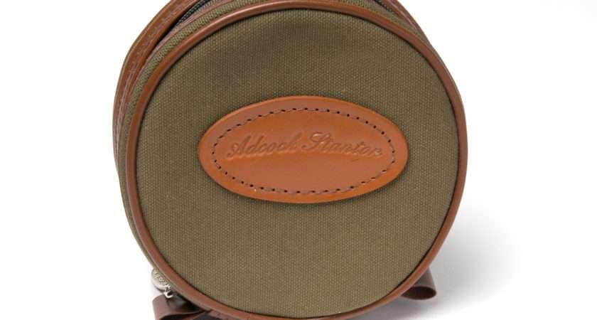 Bespoke Canvas Reel Case Available