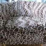 Bespoke Ikea Ektorp Tullsta Tub Chair Cover Faux Fur Animal Velboa