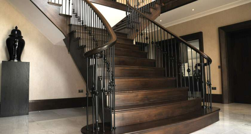 Bespoke Made Measure Staircases Curved Staircase Specialists