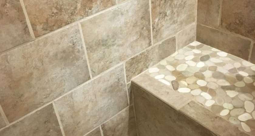 Best Bathroom Pebble Tile Stone Ideas