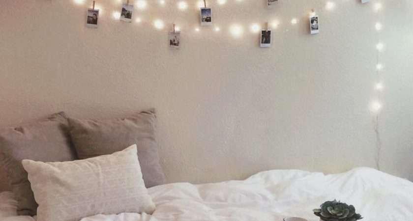Best Bedroom Fairy Lights Pinterest