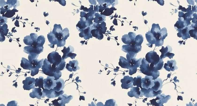 Best Blue Floral Ideas Pinterest