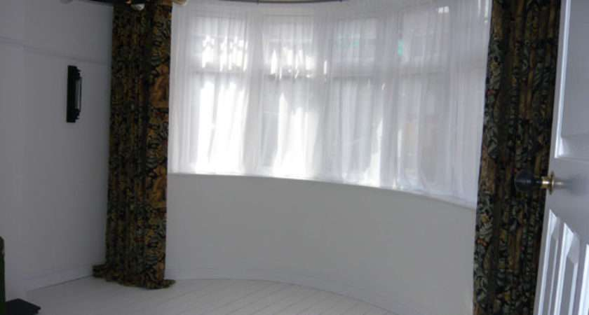 Best Curtain Rail Bay Windows Ideas Home Decor