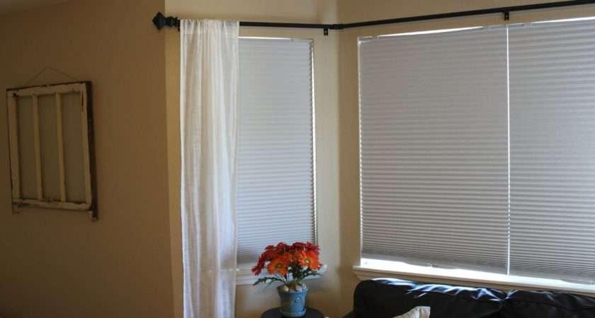 Best Curtain Rods Bay Windows Homesfeed