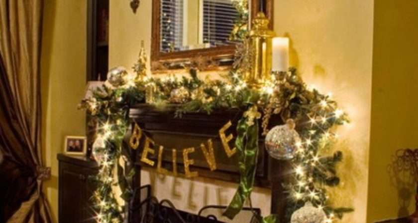 Best Holiday Mantel Ideas Christmas Fireplace