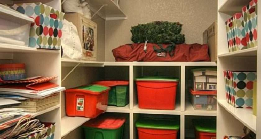 Best Holiday Storage Solutions Organizing Ideas
