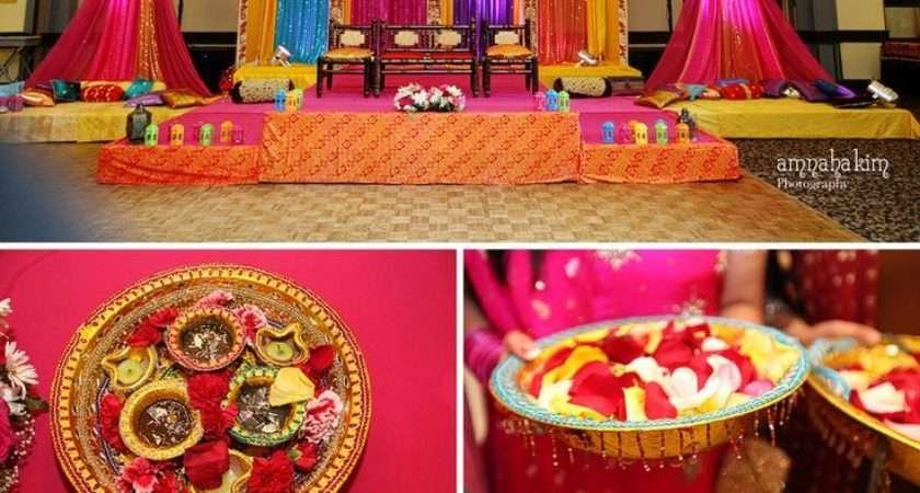 Best Indian Engagement Decors Pinterest