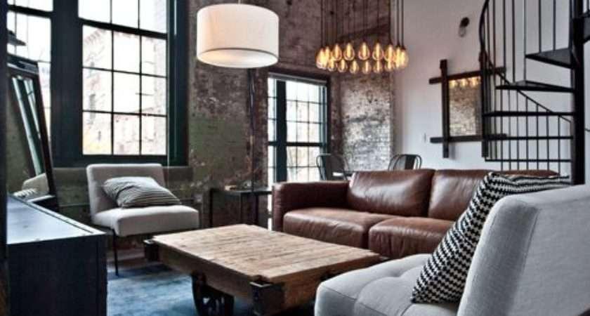 Best Industrial Living Room Design Ideas Remodel