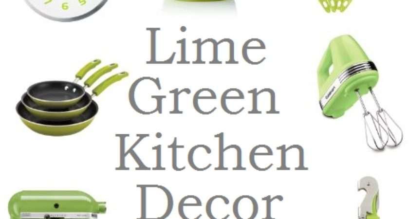 Best Lime Green Kitchen Decor Accessories