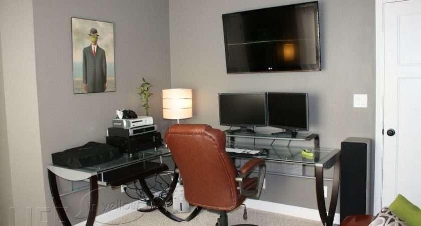 Best Office Paint Colors His Storm Valspar
