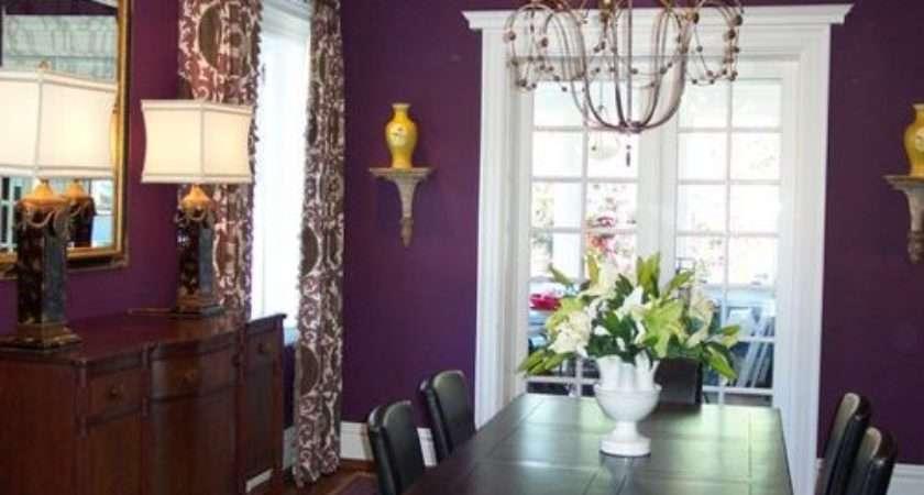 Best Purple Dining Room Design Ideas Remodel