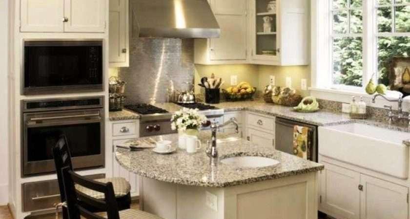 Best Square Kitchen Layout Ideas Pinterest