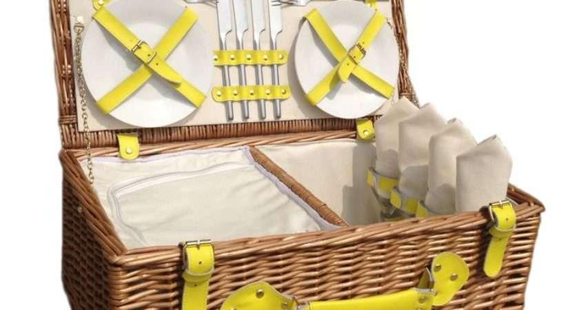 Best Vintage Picnic Basket Pinterest