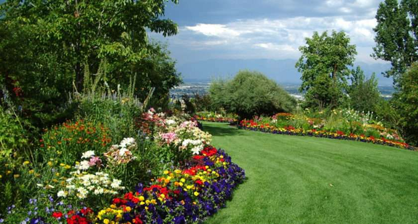 Bibler Gardens Private Display Garden Kalispell Montana