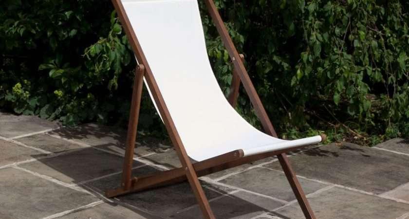 Billyoh Hampton Reclining Foldable Deck Chair