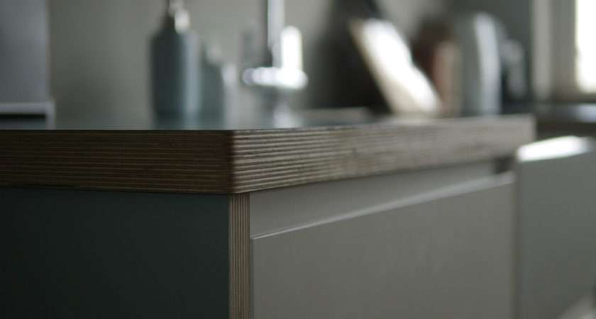 Birch Plywood Laminate Kitchen Worktop Formica Polyrey