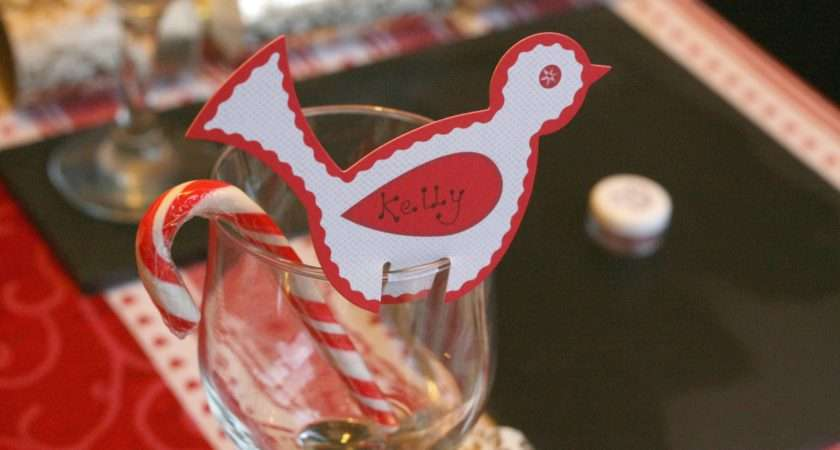 Bird Name Cards Were Hobbycraft Added Candy Cane