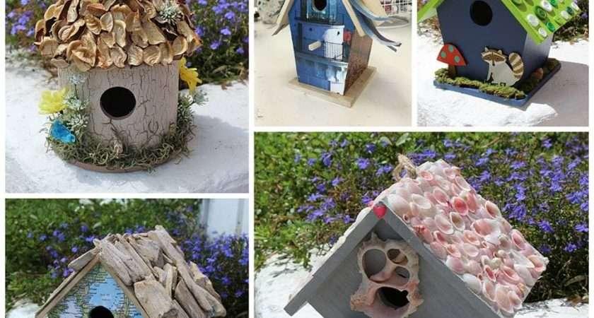 Birdhouse Crafts Ways Create Love
