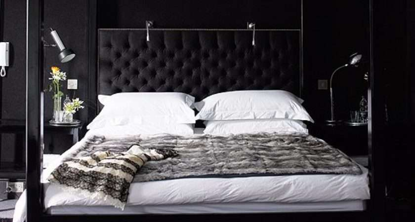 Black Bedroom Contemporary