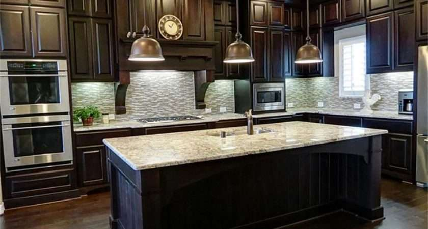 Black Color Can Stain Paint Laminate Dark Wood Kitchen