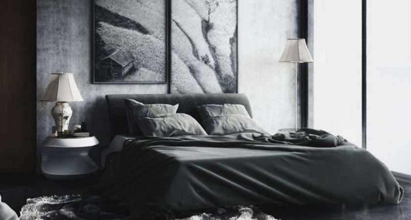 Black Design Inspiration Master Bedroom Decor