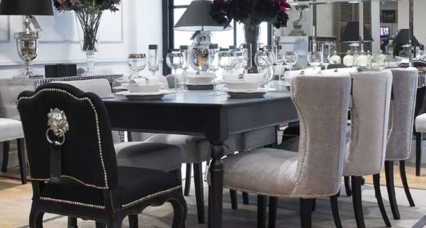 Black Dining Room Furniture Decorating Ideas Home