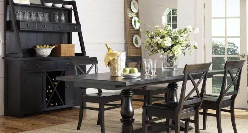 Black Dining Room Set Marceladick
