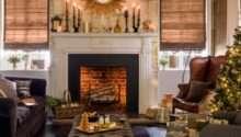 Black Gold Festive Living Room Housetohome