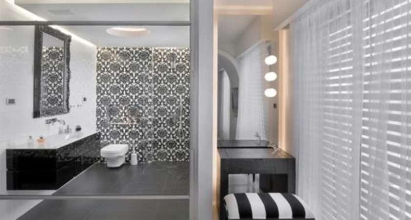 Black Grey Bathroom Home Design Ideas