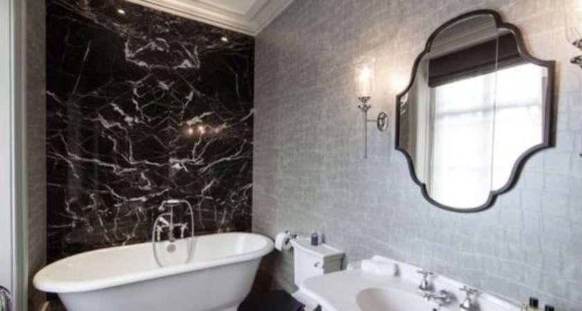 Black Grey Bathroom Houzz