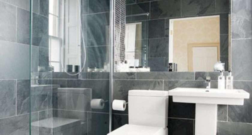 Black Grey Bathroom Tiles Ideas