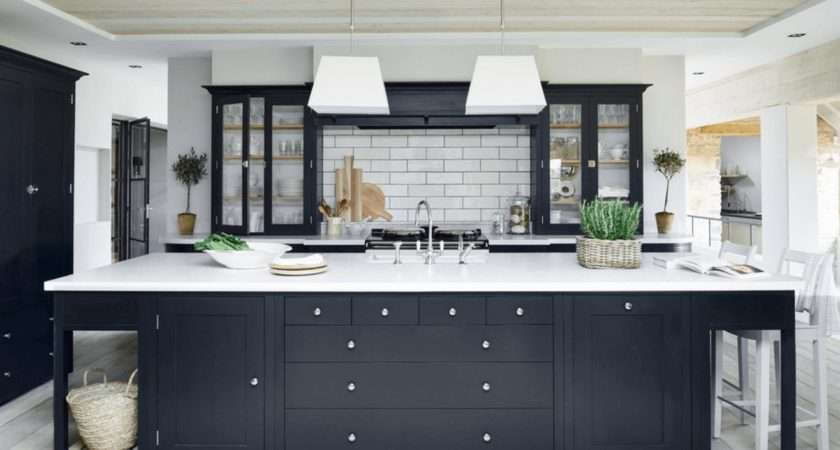 Black Kitchen Ideas Bold Modern Home